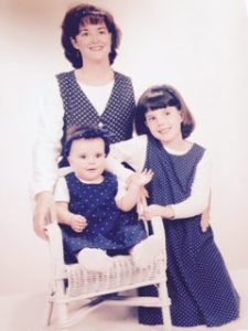 The Donovan women, circa 1994.