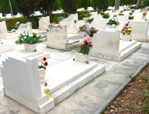 Cemetery, Dubrovnik, Croatia. Photo credit: Author's own