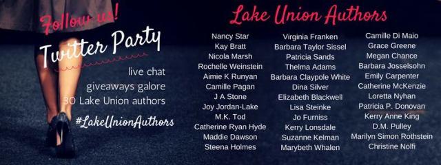 Lake Union author Twitter chat.